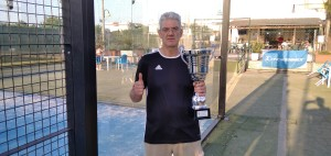 BRIGNOLO LUIGI Secondo Classificato  Campionato Master Tennis