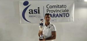 CASSATARO MARCO Secondo Classificato  Coppa Master Tennis