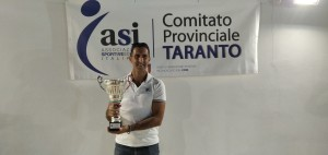 CASSATARO MARCO Secondo Classificato  Coppa Ponte Girevole Tennis