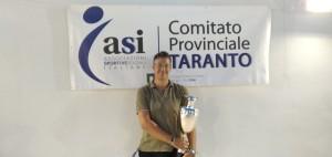 ESPERTO ROBERTO Vincitore  Coppa Master Tennis