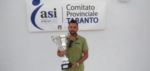 GIOVANNI FRASCELLA Vincitore Campionato Standard 1 Tennis